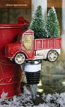 POTTERY BARN PICKUP TRUCK BOTTLE STOPPER -NWT- DRIVE HOME THE CHRISTMAS ... - $29.95