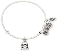 Disney Parks Exclusive Star Wars Stormtrooper Helmet Alex Ani Charm Bangle Brace - $59.39