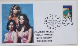 Charlie's Angels Farrah Fawcett Kate Jackson Jaclyn /smith Oct 20 2005 NYC FDC - $5.95