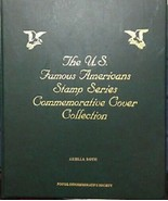 US Famous Americans Stamp Series Commemorative Cover Collection 51 Stamps - $42.08