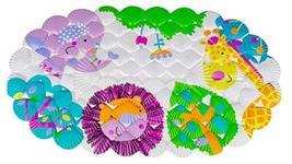 Children Cotton Shell Bath Mat Bathroom Mat Bathr Mat Non-slip Mat Giraffe