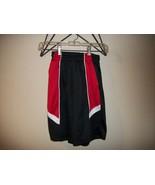 Freebie Boys BCG Red and Black Athletic Shorts Size Medium - $0.00