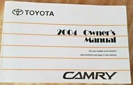 CAMRY 2004 Toyota CAMRY Owners Manual Excellent Condition - $9.89