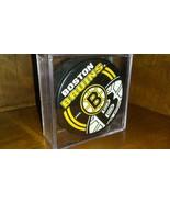 Boston Bruins Hockey Puck In Case - $9.85