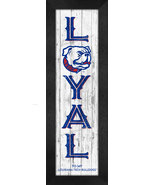 """Louisiana Tech Bulldogs """"LOYAL"""" or """"PROUD""""-8x24  Wood-Textured Look Fram... - $39.95"""