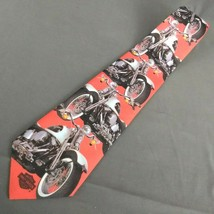 Harley Davidson Motorcycles Ralph Marlin Neck Tie Harley Custom Softail 1994  image 1