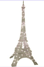 NEW - Gemmy Lightshow 7' Tall Eiffel Tower - Sparkle Crystal Splendor - $349.00