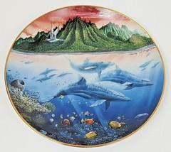Danbury Mint Underwater Paradise Plate Hawaiian Muses 1991 Robert Lyn Ne... - $12.16