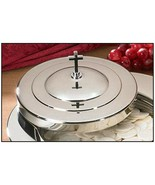 Stacking Bread Plate Cover - Silver Finish - $34.16