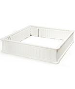 "48"" Raised Garden Bed Planter for Flower Vegetables Patio-White - Color:... - £124.22 GBP"