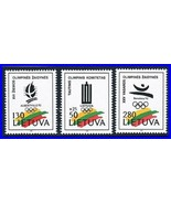 Lituanie 1992 Barcelona Olympiques MNH Sports (K-Lm-Dec) (Too Expensive ... - $1.28