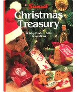 Sunset CHRISTMAS TREASURY Holiday Foods Decoration Gifts Hardcover Dustj... - $4.99