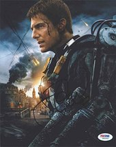 Tom Cruise 'Edge of Tomorrow' Signed 8x10 Photo Certified Authentic PSA/DNA COA - $257.39