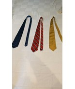 Lot Of 3 Brooks Brothers vintage Ties Made in the USA - $24.75