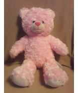 "BUILD A BEAR Pink Swirl TEDDY BEAR 17"" plush stuffed animal - $11.29"