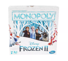 Monopoly Disney Frozen 2 Edition Board Game Ages 8+ - $14.84