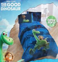 Good Dinosaur Disney Pixar Blue Twin Comforter Sheets 4PC Bedding Set New - $102.50