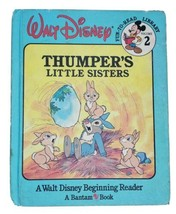 Walt Disney Fun-To-Learn Library Volume 2 Book Only Thumper's Little Sis... - $9.79