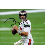 TOM BRADY SIGNED AUTOGRAPH 8x10 RPT PHOTO TAMPA BAY BUCCANEERS SUPERBOWL... - $17.99
