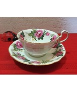 Vintage Aynsley Cup & Saucer  Pink Roses - $100.00