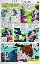 Original 1978 Wonder Woman Atom DC Comics JLA color guide art:100s MOREI... - $99.50