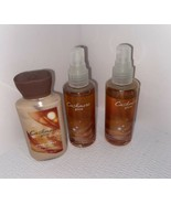 BATH AND BODY WORKS CASHMERE GLOW 3 OZ BODY LOTION (2) 3 OZ FRAGRANCE MIST - $8.91