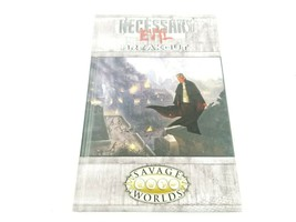 Necessary Evil Breakout Savage Worlds S2P10019 RPG Hardcover Book New - $18.92