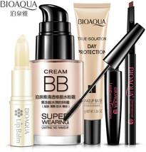 5pcs/set BIOAQUA Cosmetics Makeup Set Lip Balm BB Cream Eyebrow Pencil M... - $27.73