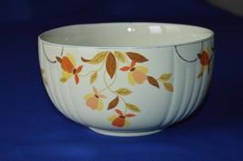 """Hall China Jewel Tea Autumn Leaf Nesting Mixing Bowl 4"""" Tall - $9.90"""