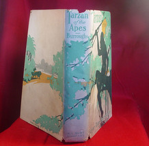 Edgar Rice Burroughs TARZAN OF THE APES w/dj-true 1st reprint 1915 - $759.50