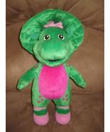 "BARNEY BABY BOP DINOSAUR PRE-PRODUCTION SAMPLE New Plush 14"" RARE PROMO ... - $79.99"