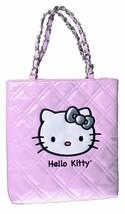 Neu Sanrio Hello Kitty Pink Abend Geldbörse Coco Gesteppt Gesicht Lack Leder Nwt