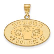 Sterling Silver w/GP LogoArt Auburn University Medium Pendant - $68.00