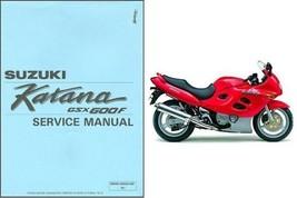 1988-1997 Suzuki GSX600F Katana 600 Service Manual on a CD - $12.99