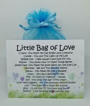 Little Bag of Love NEW - Unique Sentimental Novelty Keepsake Gift & Card - $7.65