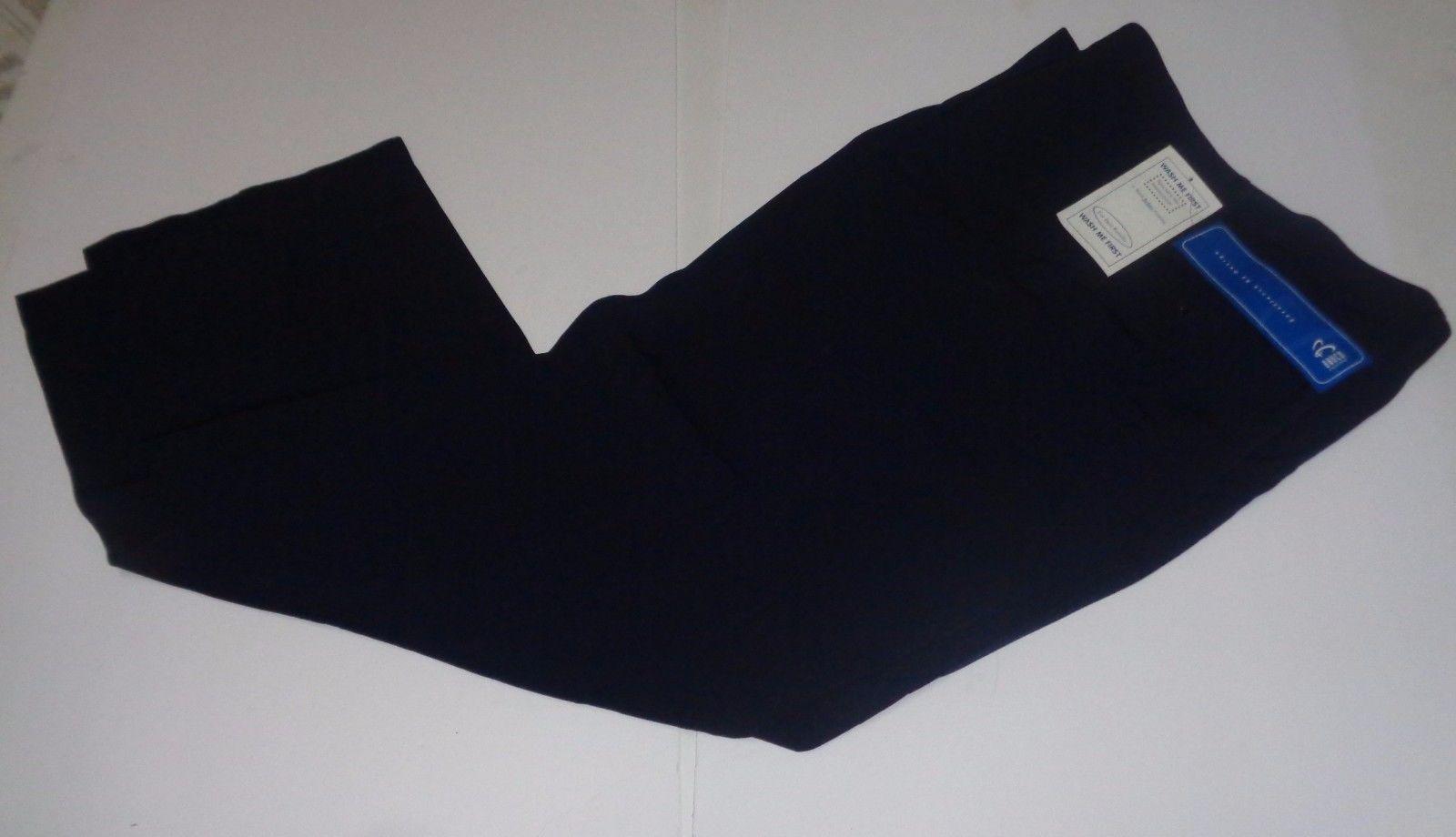 Barco Men's Uniform Navy Blue Work Slacks Pants NWT Sz 44