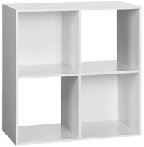 OneSpace 50-41201 4-Cube Organizer, White