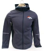 Under Armour Coldgear NFL Combine Gray Denver Broncos Zip Front Jacket M... - $134.99