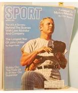 1969 April Sport Magazine - Mickey Mantle Farewell, John Unitas Football QB - $14.85