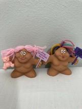 Russ Berrie Chubby Lady Trolls - $24.75
