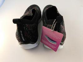 Skechers Air Cooled Memory Foam Empire Inside Look Black Walking Shoes - 7.5 image 3