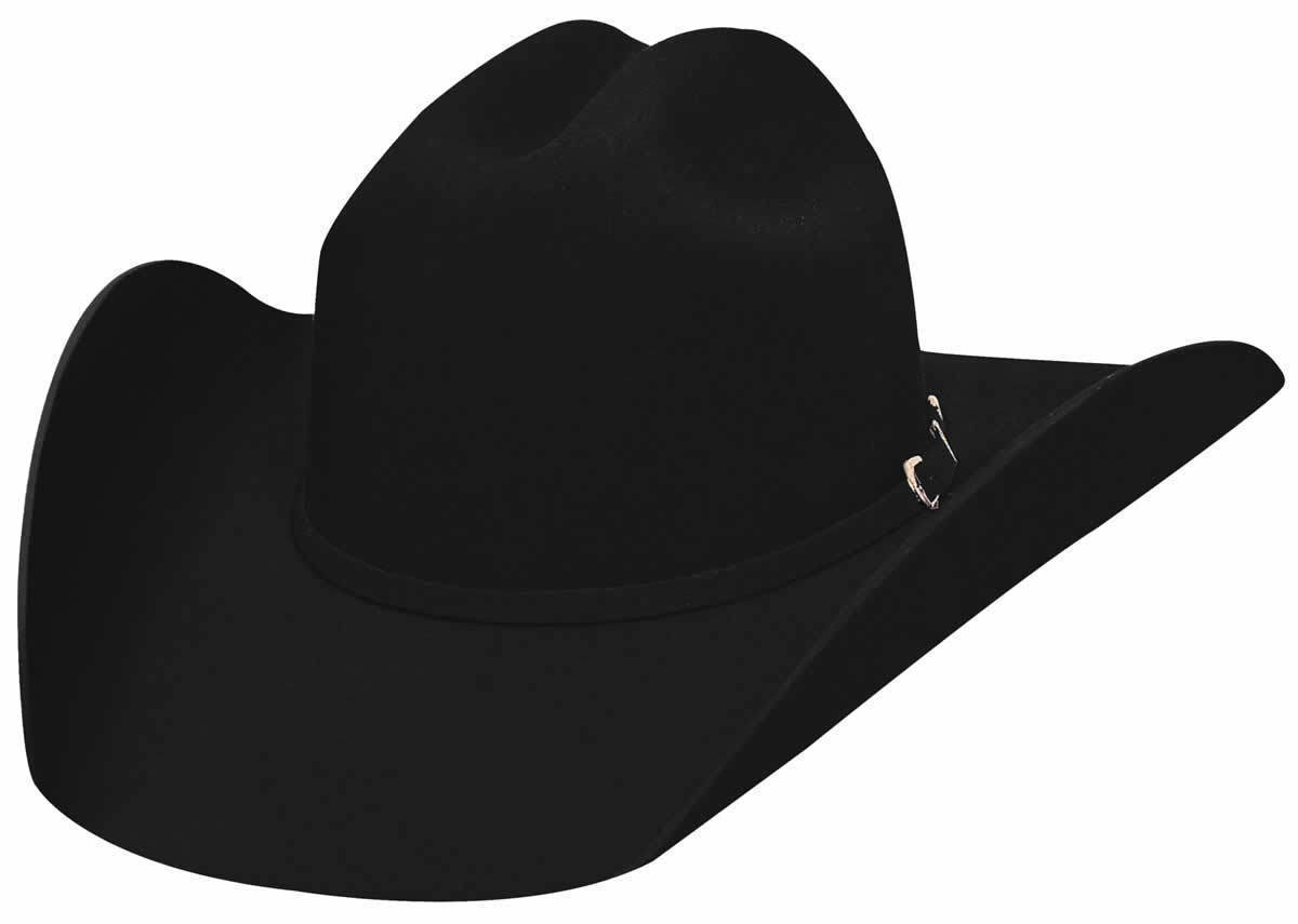 Bullhide Black 2X Cowboy Hat APPALOOSA