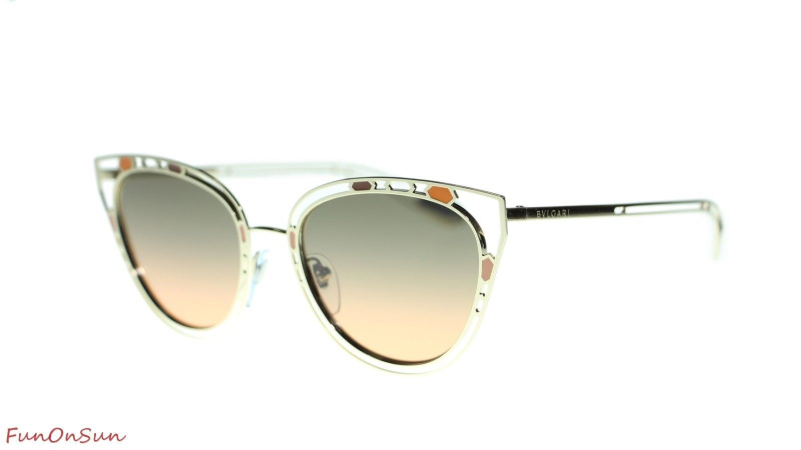 c96484bc0fc2e BVLGARI Women s Cat Eye Sunglasses BV6104 and 50 similar items. 10