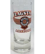 "Shot Glass Flagstaff Harley Davidson Arizona 4 1/4"" Barware Souvenir Col... - $19.79"