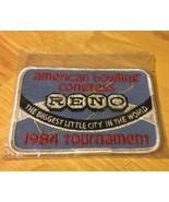 American Bowling League 1984 Tournament Patch - $6.79