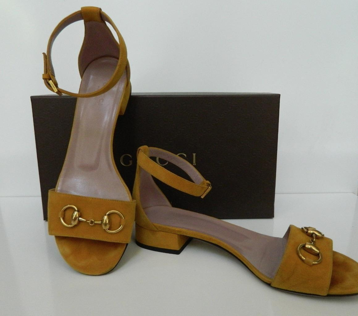 c80a93ebbf9 Gucci Sandals Lillian Suede Horsebit Ankle and 50 similar items