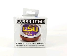 Collegiate Ornament LSU Basketball Christmas Tree Toy Sports Collector New  - $13.85