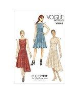 Vogue Patterns 9149 E5 Sizes 14 - 22 Misses Dress Sewing Pattern, Multi-... - $15.68