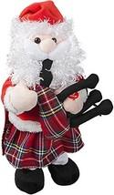 PMS 30cm Musical Dancing Santa with Kilt & Bagpipes - Novelty Christmas ... - $79.25