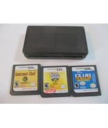 Guitar Hero: On Tour Nintendo DS Club Pingüino Gourmet Chef Cartuchos So... - $14.83